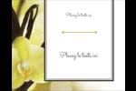 Fleur de vanille Étiquettes rondes gaufrées - gabarit prédéfini. <br/>Utilisez notre logiciel Avery Design & Print Online pour personnaliser facilement la conception.