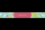 Cachemire Étiquettes ovales - gabarit prédéfini. <br/>Utilisez notre logiciel Avery Design & Print Online pour personnaliser facilement la conception.
