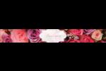 Bouquet de roses Étiquettes ovales - gabarit prédéfini. <br/>Utilisez notre logiciel Avery Design & Print Online pour personnaliser facilement la conception.