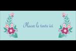 Princesses Affichette - gabarit prédéfini. <br/>Utilisez notre logiciel Avery Design & Print Online pour personnaliser facilement la conception.