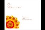 Fleur Divali Étiquettes d'expédition - gabarit prédéfini. <br/>Utilisez notre logiciel Avery Design & Print Online pour personnaliser facilement la conception.
