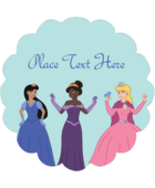 Bestow fairytale magic onto custom projects with pre-designed Princesses templates.