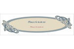 Bouquet français Affichette - gabarit prédéfini. <br/>Utilisez notre logiciel Avery Design & Print Online pour personnaliser facilement la conception.