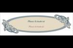 Bouquet français Carte de note - gabarit prédéfini. <br/>Utilisez notre logiciel Avery Design & Print Online pour personnaliser facilement la conception.