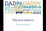 Papas du monde Cartes Et Articles D'Artisanat Imprimables - gabarit prédéfini. <br/>Utilisez notre logiciel Avery Design & Print Online pour personnaliser facilement la conception.
