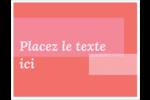 Traitement rose Cartes Et Articles D'Artisanat Imprimables - gabarit prédéfini. <br/>Utilisez notre logiciel Avery Design & Print Online pour personnaliser facilement la conception.