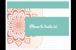 Napperon géométrique Cartes Et Articles D'Artisanat Imprimables - gabarit prédéfini. <br/>Utilisez notre logiciel Avery Design & Print Online pour personnaliser facilement la conception.