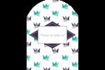 Grue en origami Étiquettes rectangulaires - gabarit prédéfini. <br/>Utilisez notre logiciel Avery Design & Print Online pour personnaliser facilement la conception.