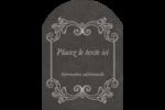Affiche de style pâtisserie Étiquettes rectangulaires - gabarit prédéfini. <br/>Utilisez notre logiciel Avery Design & Print Online pour personnaliser facilement la conception.