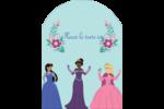 Princesses Étiquettes rectangulaires - gabarit prédéfini. <br/>Utilisez notre logiciel Avery Design & Print Online pour personnaliser facilement la conception.