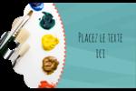 Palette de peinture Étiquettes imprimables - gabarit prédéfini. <br/>Utilisez notre logiciel Avery Design & Print Online pour personnaliser facilement la conception.