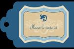 Art nouveau Étiquettes imprimables - gabarit prédéfini. <br/>Utilisez notre logiciel Avery Design & Print Online pour personnaliser facilement la conception.