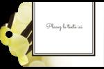 Fleur de vanille Étiquettes imprimables - gabarit prédéfini. <br/>Utilisez notre logiciel Avery Design & Print Online pour personnaliser facilement la conception.