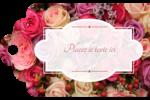 Bouquet de roses Étiquettes imprimables - gabarit prédéfini. <br/>Utilisez notre logiciel Avery Design & Print Online pour personnaliser facilement la conception.