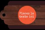 Livraison de pizza Étiquettes imprimables - gabarit prédéfini. <br/>Utilisez notre logiciel Avery Design & Print Online pour personnaliser facilement la conception.