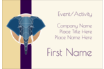 Add majestic beauty to customized projects with pre-designed Geometric Elephant templates.