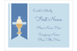 Add a sense of tradition to projects with customizable First Communion templates.