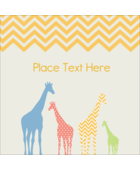 Get wild and create custom projects with pre-designed Giraffe Party templates.