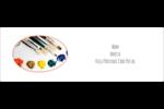 Palette de peinture Intercalaires / Onglets - gabarit prédéfini. <br/>Utilisez notre logiciel Avery Design & Print Online pour personnaliser facilement la conception.