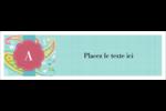 Cachemire Affichette - gabarit prédéfini. <br/>Utilisez notre logiciel Avery Design & Print Online pour personnaliser facilement la conception.