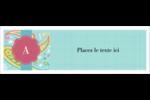 Cachemire Carte de note - gabarit prédéfini. <br/>Utilisez notre logiciel Avery Design & Print Online pour personnaliser facilement la conception.