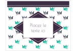 Grue en origami Cartes Et Articles D'Artisanat Imprimables - gabarit prédéfini. <br/>Utilisez notre logiciel Avery Design & Print Online pour personnaliser facilement la conception.