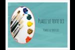 Palette de peinture Cartes Et Articles D'Artisanat Imprimables - gabarit prédéfini. <br/>Utilisez notre logiciel Avery Design & Print Online pour personnaliser facilement la conception.