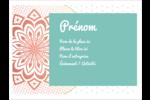 Napperon géométrique Badges - gabarit prédéfini. <br/>Utilisez notre logiciel Avery Design & Print Online pour personnaliser facilement la conception.