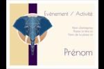 Éléphant géométrique Badges - gabarit prédéfini. <br/>Utilisez notre logiciel Avery Design & Print Online pour personnaliser facilement la conception.