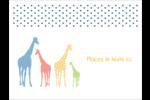 Girafe en fête Badges - gabarit prédéfini. <br/>Utilisez notre logiciel Avery Design & Print Online pour personnaliser facilement la conception.