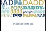 Papas du monde Étiquettes à codage couleur - gabarit prédéfini. <br/>Utilisez notre logiciel Avery Design & Print Online pour personnaliser facilement la conception.