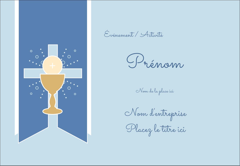 """1¼"""" Étiquettes à codage couleur - Première communion"""