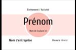 Traitement Sphère rose Étiquettes à codage couleur - gabarit prédéfini. <br/>Utilisez notre logiciel Avery Design & Print Online pour personnaliser facilement la conception.