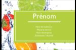 Fruits frais Étiquettes à codage couleur - gabarit prédéfini. <br/>Utilisez notre logiciel Avery Design & Print Online pour personnaliser facilement la conception.