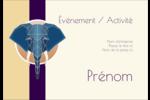 Éléphant géométrique Étiquettes à codage couleur - gabarit prédéfini. <br/>Utilisez notre logiciel Avery Design & Print Online pour personnaliser facilement la conception.