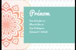Napperon géométrique Étiquettes à codage couleur - gabarit prédéfini. <br/>Utilisez notre logiciel Avery Design & Print Online pour personnaliser facilement la conception.