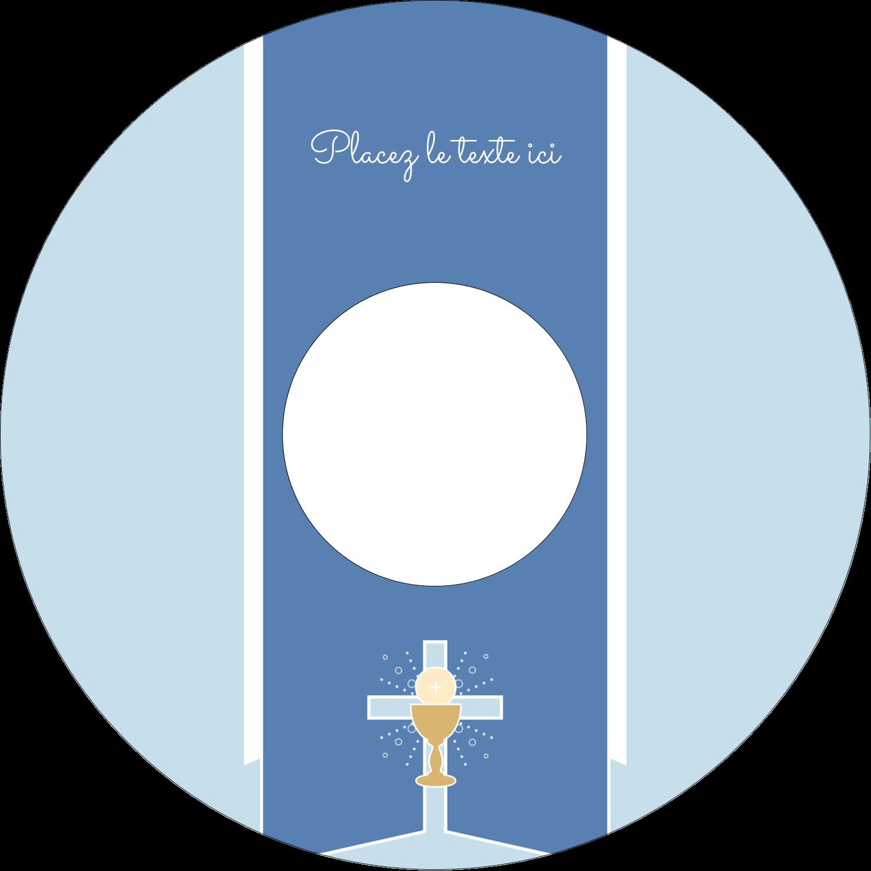 """⅔"""" x 3-7/16"""" Étiquettes de classement - Première communion"""