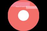 Traitement rose Étiquettes de classement - gabarit prédéfini. <br/>Utilisez notre logiciel Avery Design & Print Online pour personnaliser facilement la conception.