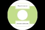 Traitement en vert Étiquettes de classement - gabarit prédéfini. <br/>Utilisez notre logiciel Avery Design & Print Online pour personnaliser facilement la conception.