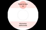 Traitement Sphère rose Étiquettes de classement - gabarit prédéfini. <br/>Utilisez notre logiciel Avery Design & Print Online pour personnaliser facilement la conception.