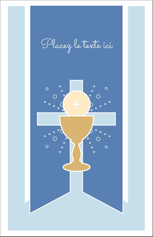 """8½"""" x 11"""" Binder Insert Reliures - Première communion"""