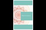 Napperon géométrique Reliures - gabarit prédéfini. <br/>Utilisez notre logiciel Avery Design & Print Online pour personnaliser facilement la conception.
