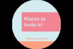 Traitement de base Étiquettes Voyantes - gabarit prédéfini. <br/>Utilisez notre logiciel Avery Design & Print Online pour personnaliser facilement la conception.