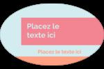 Traitement de base Étiquettes carrées - gabarit prédéfini. <br/>Utilisez notre logiciel Avery Design & Print Online pour personnaliser facilement la conception.