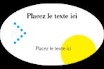 Traitement couleur Étiquettes carrées - gabarit prédéfini. <br/>Utilisez notre logiciel Avery Design & Print Online pour personnaliser facilement la conception.