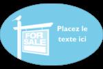 Oiseau à vendre Étiquettes carrées - gabarit prédéfini. <br/>Utilisez notre logiciel Avery Design & Print Online pour personnaliser facilement la conception.