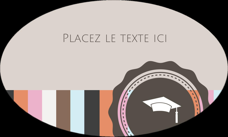 """1½"""" x 1½"""" Étiquettes carrées - Mortier de diplômé"""
