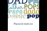 Papas du monde Étiquettes carrées - gabarit prédéfini. <br/>Utilisez notre logiciel Avery Design & Print Online pour personnaliser facilement la conception.