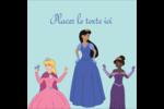Princesses Étiquettes carrées - gabarit prédéfini. <br/>Utilisez notre logiciel Avery Design & Print Online pour personnaliser facilement la conception.