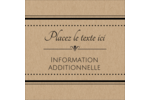Grand chic Étiquettes rondes - gabarit prédéfini. <br/>Utilisez notre logiciel Avery Design & Print Online pour personnaliser facilement la conception.